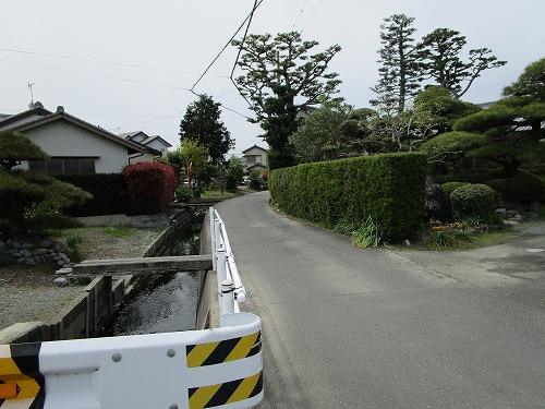 8水路沿い直進