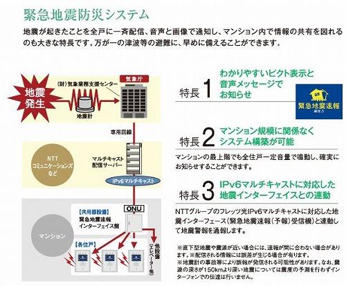 緊急地震防災システム