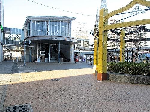 駅南口全景