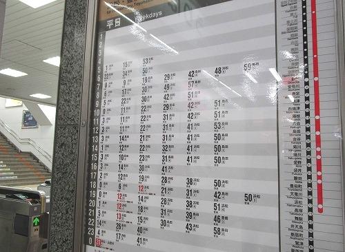 静岡時刻表