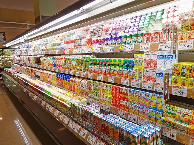 ヤオコー小平回田店(現地より約160m)飲料売り場