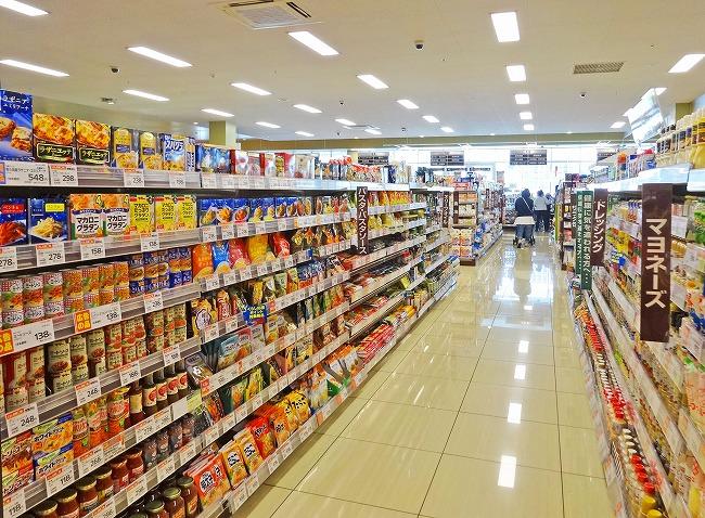ヤオコー小平回田店(現地より約160m)店内