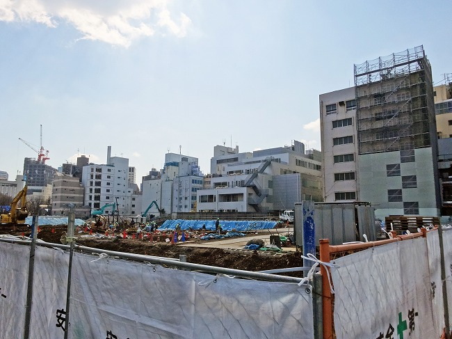 四谷駅前地区市街地再開発事業