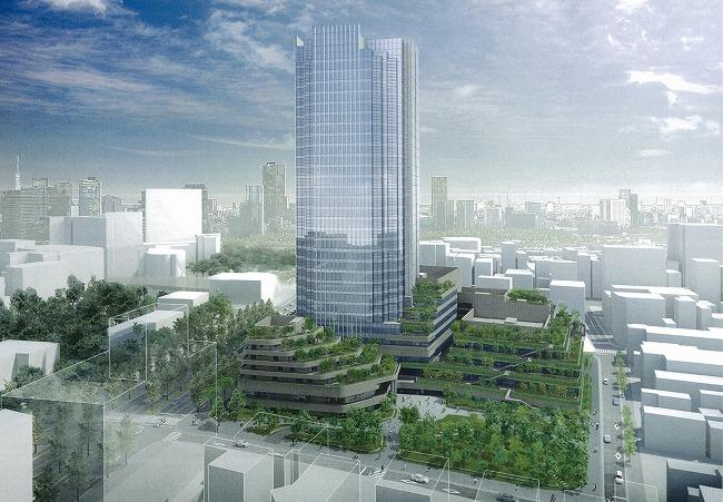 四谷駅前地区市街地再開発事業 イメージパース