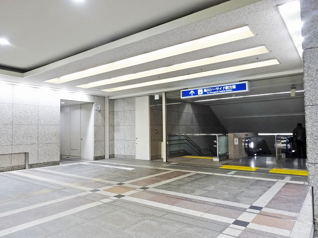 品川シーサイド駅からの徒歩ルー...