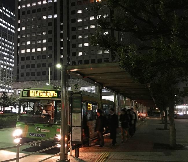 「品川シーサイド」駅前ロータリー