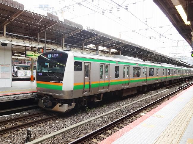 JR湘南新宿ライン