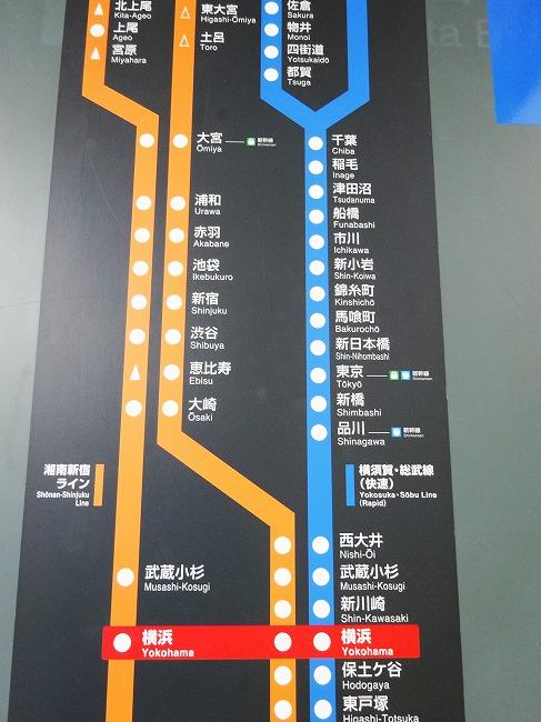 JR湘南新宿ライン・横須賀線 路線図