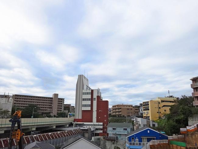 「グランスイート横濱 翠の丘」現地からの眺望(2016年11月現在)