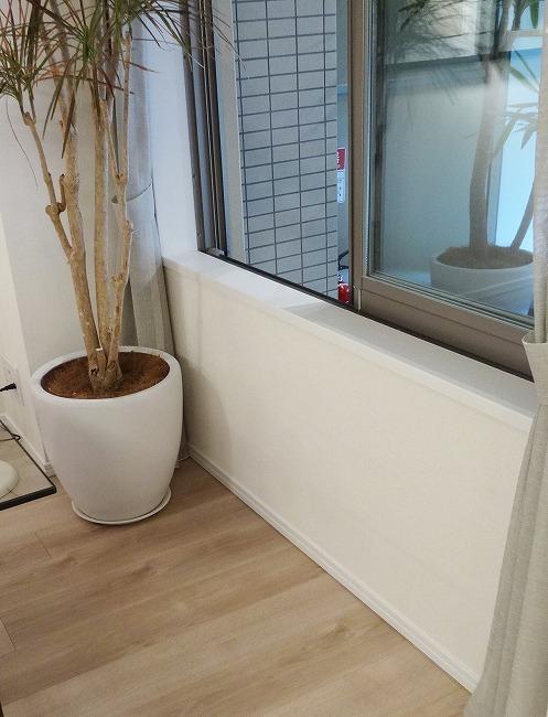 「グランスイート横濱 翠の丘」モデルルーム(腰高窓)