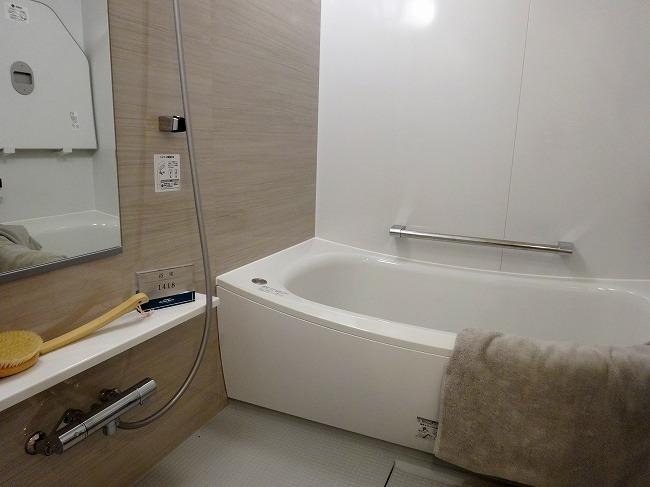 「グランスイート横濱 翠の丘」モデルルーム(浴室)