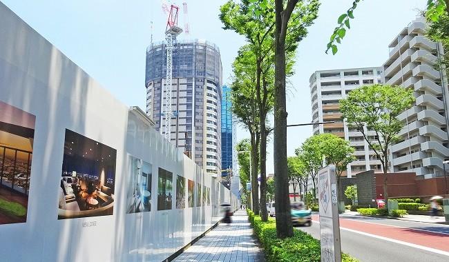 パークシティ武蔵小杉 ザ ガーデン 現地周辺