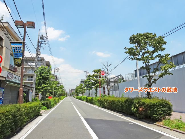パークシティ武蔵小杉 ザ ガーデン」現地周辺
