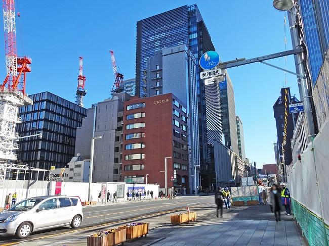 日本橋室町三丁目再開発(現地より約920m)