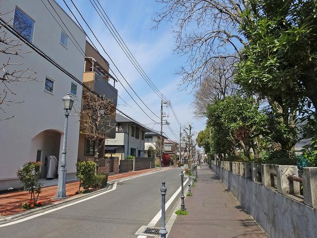 「浦和北公園」周辺の街並み(現地より約300m)