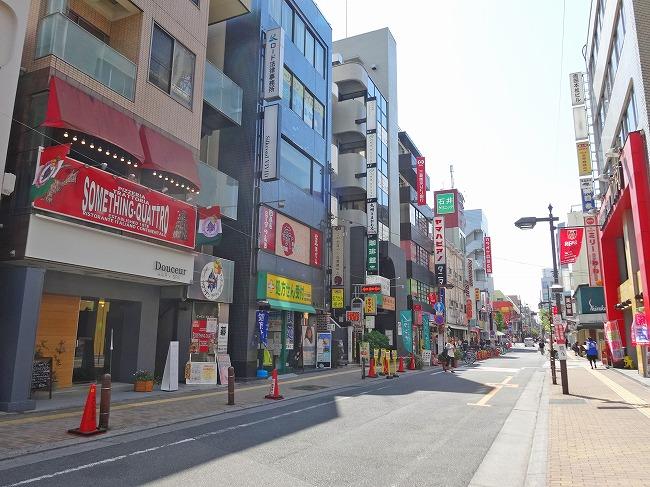 「北浦和西口商店会(ハッピーロード)(現地より約450m)」